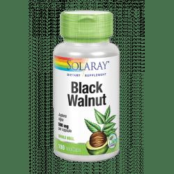 Black Walnut Hull (Nogal Negro)-100 VegCaps. Apto para veganos