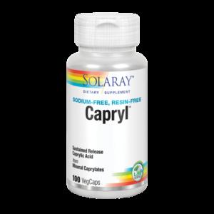 Capryl™-100 VegCaps. Sin sodio. Sin resinaS. Apto para veganos