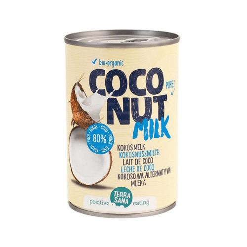 Leche de coco bio 400 ml Terra Sana