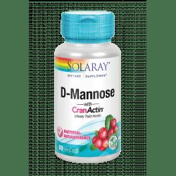 D-Mannose con Cranactin®- 60 VegCaps. Apto para veganos