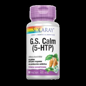 G.S. Calm (5-HTP)-60 VegCaps con protección entérica.
