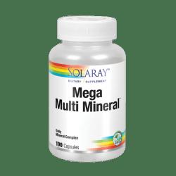 Mega multi mineral -120 VegCaps. Apto para veganos