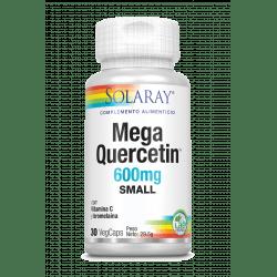 Small Mega Quercetin™ -30 VegCaps. Sin gluten. Apto para veganos