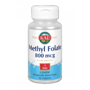 Methyl Folate 800 mcg-90 comprimidos. Apto para veganos